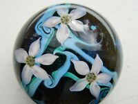 EARLY ORIENT & FLUME FLORAL PAPERWEIGHT 1978