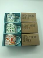 3 Mug Set: HAWAII + Waikiki + MAUI Been There Series 14 Ounce Starbucks Mugs