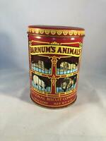 1979 Vintage National Biscuit Company Crackers Tin Box Barnum's Animals
