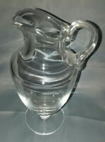 Baccarat Crystal Serving Carafe Pitcher Scratched/Chipped