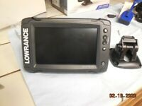 LOWRANCE Ti2 FISH FINDER GPS/ COMBO  WITH  MED/HIGH CHIRP SONAR AND DOWNSCAN