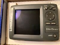 Lowrance Elite 5 HDI With Transducer And Power Cord