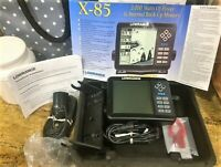 Lowrance x-85 Fish Finder with transducer NICE