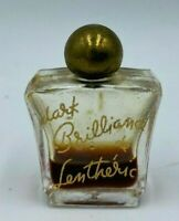 Rare Vintage 1946 Dark Brilliance de Lentheric Small Perfume Bottle Collectable