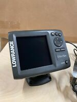 Lowrance Elite 5x. Used Good Condition. Includes Head Unit/ Mount /Transducer