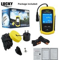 LUCKY Color Display Fish Finder Echo Sounder 100M Sonar LCD for Ice Winter Boati