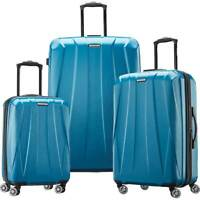 Samsonite Spinner Suitcase Set 3 Piece Caribbean Blue