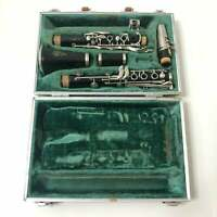 Vintage Boosey And Hawkes Clarinet with Case London Series 1-10