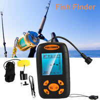 NEW Portable Fish Finder Echo Sonar Alarm Sensor Transducer Fishfinder US Seller