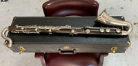 Conn Hard Rubber Bass Clarinet Made In France by Malerne