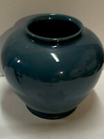 "North Carolina Pottery 863 Hyalyn 8"" vase in beautiful soft blue"
