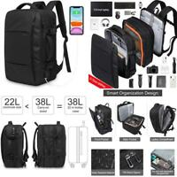 Carry on Travel Luggage Backpack40L Flight Approved Expandable Weekend Bag