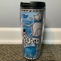 Starbucks Coffee Company Barista Tumbler Cub with Dogs  16 oz 2002