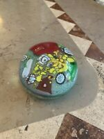 Vintage MURANO ITALY Art Glass Paperweight.