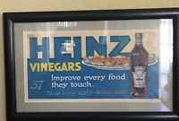 Heinze Vinegar Advertising Sign