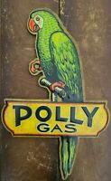 Polly Gas Sign Reproduction Great Condition