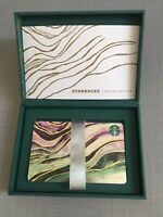 Starbucks PHILIPPINES Special Edition Card 2018 w Matching Green Box Set