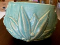 Vintage McCoy Pottery Hanging Planter Leaves Berries Green GUC No Chips