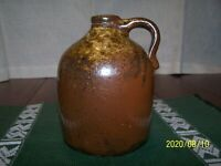 ANTIQUE MINIATURE SOUTHERN POTTERY JUG  ALABAMA?  5.5