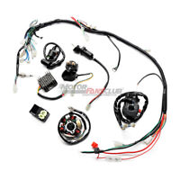 Electric Wiring Harness Kit For ATV Go Kart GY6 125cc 150cc With 6 Coil Stator