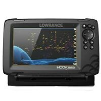 Lowrance HOOK Reveal 7x Fishfinder w 7quot; Display amp; DownScan Imaging 000 15515 001