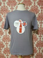 Coca Cola London 2012 Olympics T Shirt NEW Made from 5 Coke Bottles Brand New