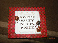 RUSSELL STOVER EMPTY Candy Box sweet salty nutty nice Earring jewelry organizer