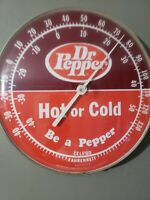 Vintage quot;DR.PEPPER SODAquot; HOT or COLD THERMOMETER from 1960#x27;s