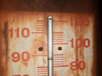 Vintage Dr. Pepper quot;Be a Pepperquot; Thermometer