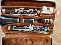 SELMER BUNDY Deluxe Bb CLARINET JUST PRO SERVICED new pads Free returns