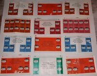12 Vintage 1950s Robin Hood Flour Advertising Coupons Homemakers Club Stamp Lot