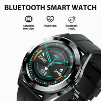 Bluetooth Call Smart Watch Phone Mate Heart Rate Fitness Tracker For iOS Android $18.16