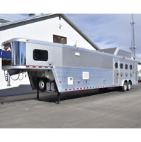 2017 Hart 4 Horse Trailer with 15#x27; LQ and Smart Tack $115000.00
