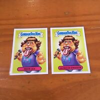 2017 Garbage Pail Kids Rolling Stones Card 4A 4B Battle Of The Bands Mick Jagger