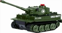 DGL Call of Duty Tiger I Remote Controlled Toy Battle Tank Limited Edition Green $25.99