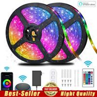 RGB LED Strip Lights Color Changing Wifi Smart Alexa App Control for Party Home $32.69