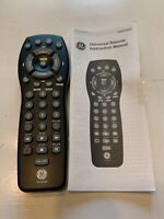 General Electric GE Universal Remote Control RM24993 With Manual Includes $6.49