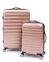 Hardside Luggage Fibertech 2 piece set 20 Inch Carry on and 28 Inch Checked