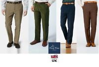 Mens Moleskin 100% Cotton Trousers Hunting Walking Fishing Country Clothing