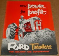 1955 Fordson Tractor Brochure     850  650