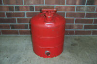 VINTAGE 5 GALLON METAL SAFETY GAS CAN