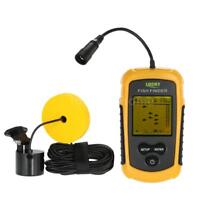 Lixida Fish Finder, Sonar, Antenna. Boat, Kayak, Canoe. Fish, Depth, 100M Depth