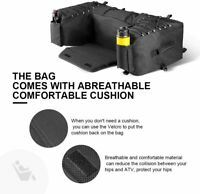 ATV Bag Rear Rack Water Resistant Storage Multi-compartment & 15