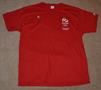 New Coca Cola RIO 2016 Olympic Games RED Shirt XL Olympics COKE XLARGE