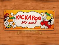 TIN SIGN quot;Kickapoo Joy Juicequot; Cola Soda Kitchen Rustic Wall Decor