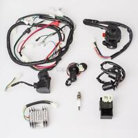 COMPLETE ELECTRICS GY6 125CC 150CC ATV QUAD WIRING HARNESS IGNITION COIL RELAY