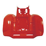 Honda TRX250R TRX 250R REAR ATV Fender Plastic RED NEW