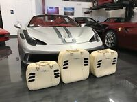 Factory Luggage Set for Ferrari 458 Spider Leather Suitcase Bag Original