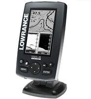 Lowrance Mark-4 Chirp 000-11823-001 Fishfinder/Chartplotter with 83/200 K... New