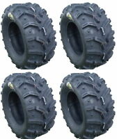 Four 4 Deestone Swamp Witch ATV Tires Set 2 Front 25x8-12 & 2 Rear 25x10-12 D932